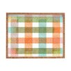 DENY Designs Zoe Wodarz Pastel Plaid Rectangle Tray