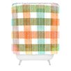 DENY Designs Zoe Wodarz Pastel Plaid Shower Curtain