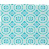 DENY Designs Elisabeth Fredriksson Crystal Flowers Fleece Throw Blanket