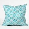 DENY Designs Elisabeth Fredriksson Crystal Flowers Throw Pillow