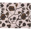 DENY Designs Georgiana Paraschiv Floral II Fleece Throw Blanket