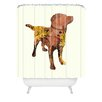 DENY Designs Iveta Abolina Lab Shower Curtain