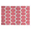 DENY Designs Caroline Okun Splendid Red Area Rug