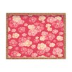 DENY Designs Lisa Argyropoulos Blossoms On Coral Rectangle Tray