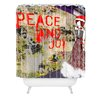 DENY Designs Amy Smith Urban Holiday Woven Polyester Shower Curtain