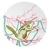 DENY Designs Betsy Olmsted Holiday Chipmunk Wall Clock