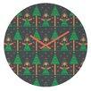 DENY Designs Gabriela Larios Angels Wall Clock