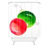 DENY Designs Laura Trevey Deck The Halls Woven Polyester Shower Curtain