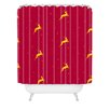 <strong>Jacqueline Maldonado Reindeer Stars Woven Polyester Shower Curtain</strong> by DENY Designs