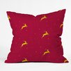 <strong>Jacqueline Maldonado Reindeer Stars Throw Pillow</strong> by DENY Designs