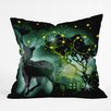 <strong>Randi Antonsen Nordic Light Throw Pillow</strong> by DENY Designs