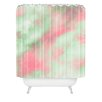 DENY Designs Caleb Troy Pastel Christmas Woven Polyester Shower Curtain