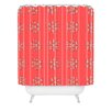 DENY Designs Ingrid Padilla Flakes A Flutter Woven Polyester Shower Curtain