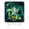 DENY Designs Randi Antonsen The Nordic Night Woven Polyester Shower Curtain