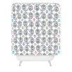 DENY Designs Andi Bird Paisley Ornamental Woven Polyester Shower Curtain