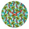 DENY Designs Aimee St Hill Tropical Christmas Wall Clock