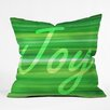 DENY Designs Sophia Buddenhagen Christmas Collection Throw Pillow