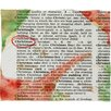 DENY Designs Susanne Kasielke Christmas Dictionary Art Plush Fleece Throw Blanket