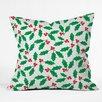 DENY Designs Zoe Wodarz Holly Day Throw Pillow