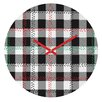 DENY Designs Zoe Wodarz Cozy Cabin Wall Clock
