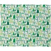 DENY Designs Zoe Wodarz Wonderland Forest Plush Fleece Throw Blanket