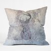 DENY Designs Kent Youngstrom Holiday Deer Throw Pillow
