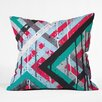 DENY Designs Kent Youngstrom Holiday Stripes Throw Pillow