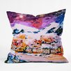 DENY Designs Ginette Fine Art Winter Star Throw Pillow