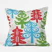 DENY Designs Zoe Wodarz Forest Tales Throw Pillow
