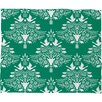 DENY Designs Jacqueline Maldonado Christmas Paper Cutting Plush Fleece Throw Blanket