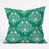 DENY Designs Jacqueline Maldonado Christmas Paper Cutting Throw Pillow
