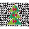 DENY Designs Zoe Wodarz Geo Pop Tree Plush Fleece Throw Blanket