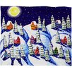 DENY Designs Renie Britenbucher Silent Night Plush Fleece Throw Blanket