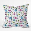 DENY Designs Sam Osborne Snowflake Doodles Throw Pillow