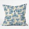 DENY Designs Zoe Wodarz Holiday Lights Throw Pillow