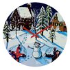 DENY Designs Renie Britenbucher Snow Angels Wall Clock