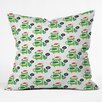 DENY Designs Andi Bird Help Me Holiday Throw Pillow