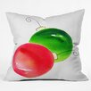 DENY Designs Laura Trevey Deck The Halls Throw Pillow