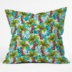DENY Designs Aimee St Hill Tropical Christmas Throw Pillow