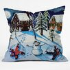 DENY Designs Renie Britenbucher Snow Angels Throw Pillow