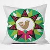DENY Designs Zoe Wodarz Geo Pop Wreath Throw Pillow