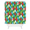 DENY Designs Zoe Wodarz Mini Forest Woven Polyester Shower Curtain