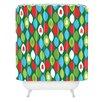 DENY Designs Zoe Wodarz Mini Forest Woven Polyester Shower Curtain