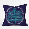 DENY Designs Rachael Taylor Decorative Tree Throw Pillow