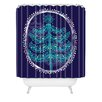 <strong>Rachael Taylor Decorative Tree Woven Polyester Shower Curtain</strong> by DENY Designs