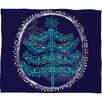 DENY Designs Rachael Taylor Decorative Tree Plush Fleece Throw Blanket