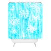 DENY Designs Rosie Brown Snowing Woven Polyester Shower Curtain
