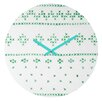 DENY Designs Social Proper Holiday Sweater Wall Clock