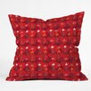 DENY Designs Julia Da Rocha Christmas Trees Throw Pillow