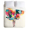 DENY Designs Randi Antonsen Lightweight Flower Duvet Cover